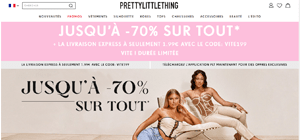 code reduction prettylittlething